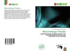 Copertina di Mark Hellinger Theatre