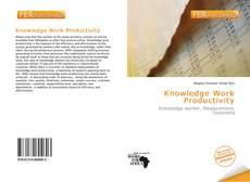 Bookcover of Knowledge Work Productivity