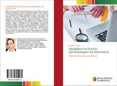 Capa do livro de Geogebra no Ensino-Aprendizagem da Geometria