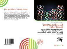 Capa do livro de 2009 World Series of Poker Europe
