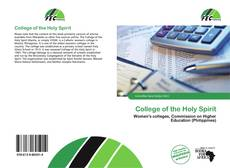 Bookcover of College of the Holy Spirit