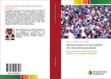 Capa do livro de Atitude pública e percepção do censo da população