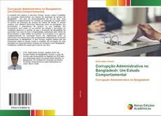 Обложка Corrupção Administrativa no Bangladesh: Um Estudo Comportamental