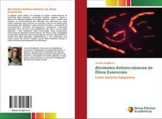 Portada del libro de Atividades Antimicrobianas de Óleos Essenciais