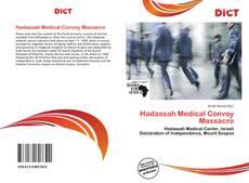 Buchcover von Hadassah Medical Convoy Massacre