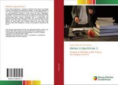 Обложка Ideias Linguísticas 1