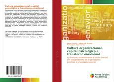 Cultura organizacional, capital psicológico e transtorno emocional kitap kapağı