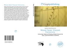 Bookcover of Mount Saint Vincent University