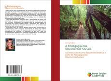 Buchcover von A Pedagogia nosMovimentos Sociais