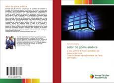 Capa do livro de setor de goma arábica