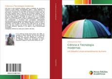 Ciência e Tecnologia modernas kitap kapağı