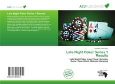 Copertina di Late Night Poker Series 1 Results