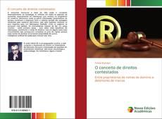 Capa do livro de O conceito de direitos contestados