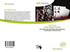 Bookcover of Late Night Poker