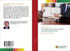 Portada del libro de Psicologia da comunicação jurídica profissional