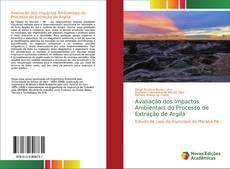 Capa do livro de Avaliação dos Impactos Ambientais do Processo de Extração de Argila