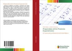 Capa do livro de Proporções entre Produtos Exponenciais