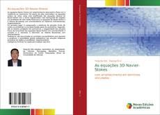 Bookcover of As equações 3D Navier-Stokes