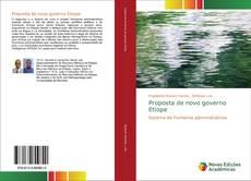 Copertina di Proposta de novo governo Etíope