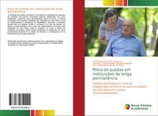 Buchcover von Risco de quedas em instituições de longa permanência