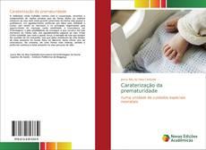 Обложка Caraterização da prematuridade