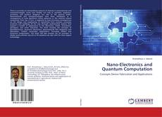 Capa do livro de Nano-Electronics and Quantum Computation