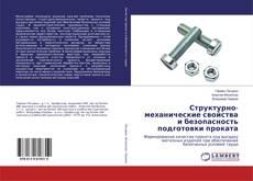 Buchcover von Структурно-механические свойства и безопасность подготовки проката