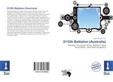 Buchcover von 2/12th Battalion (Australia)