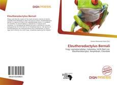 Portada del libro de Eleutherodactylus Bernali