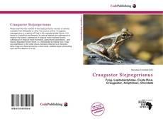 Couverture de Craugastor Stejnegerianus