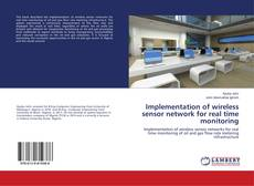 Bookcover of Implementation of wireless sensor network for real time monitoring