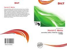 Bookcover of Harish C. Mehta