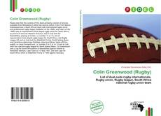 Bookcover of Colin Greenwood (Rugby)