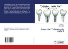 Bookcover of Impression Techniques in Implant