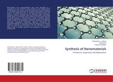 Capa do livro de Synthesis of Nanomaterials