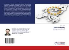 Bookcover of Lisbon treaty