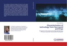 Bookcover of Characterization of technology from four-panel paintings