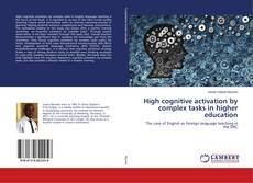 Buchcover von High cognitive activation by complex tasks in higher education