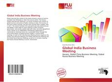 Bookcover of Global India Business Meeting