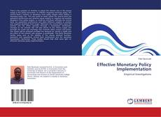 Bookcover of Effective Monetary Policy Implementation