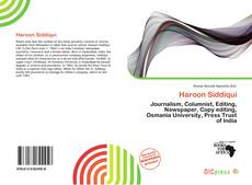 Bookcover of Haroon Siddiqui