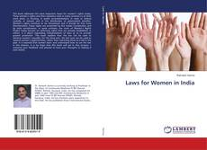 Bookcover of Laws for Women in India