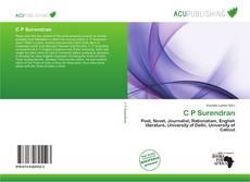 Capa do livro de C P Surendran