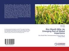 Borítókép a  Rice Sheath Mite: An Emerging Pest of Global Importance - hoz