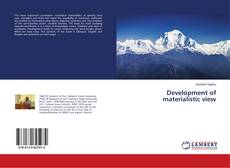 Portada del libro de Development of materialistic view