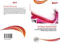 Buchcover von Ali Akbar Abdolrashidi