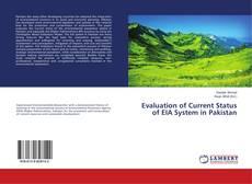 Portada del libro de Evaluation of Current Status of EIA System in Pakistan