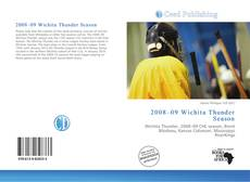 Capa do livro de 2008–09 Wichita Thunder Season
