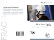 Capa do livro de 1995–96 Wichita Thunder Season