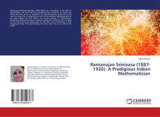 Обложка Ramanujan Srinivasa (1887-1920): A Prodigious Indian Mathematician